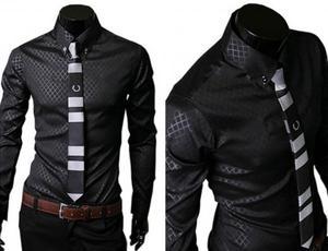 Camisa estilo Coreana Talla L