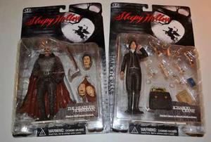 El Jinete Sin Cabeza Sleepy Hollow 2 Figuras Mc Farlane Toys