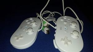 Mandos Clasicos Para Nintendo Wii / Wii U En Perfecto Estado