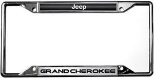 Placas Cromadas Para Camionetas Jeep