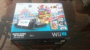 Remato Mi Nintendo Wii U 32gb + 4 Juegos Originales