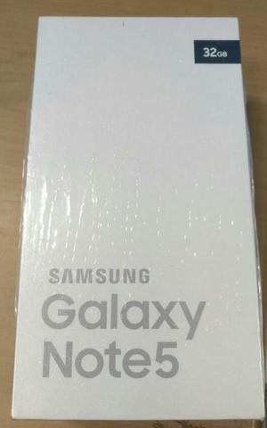 Samsung Galaxy Note 5 Nuevo en Caja