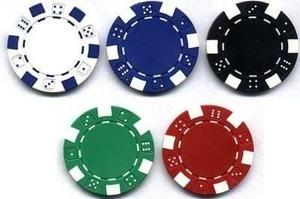 500 Fichas De Poker De 11.5 Gramos Peso Oficial 5 Colores!!!
