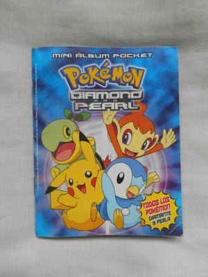 Mini álbum de Pokémon, diamante y perla con 202 figuras