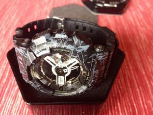Reloj Casio G Shock Modelo Jaspeado Neg