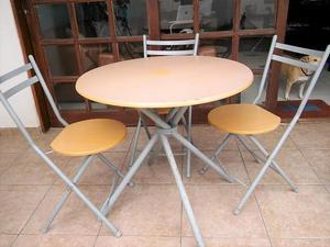 Remato jgo mesa y 3 sillas