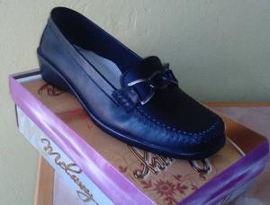 Zapato 100% Cuero - De Vestir Mujer Talla 35