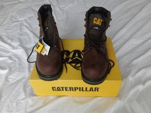 Zapatos Cat Con Punta De Acero, Talla 42.5, Nuevos !!!