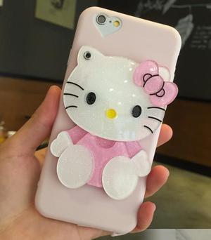 CASE ESPEJO DE HELLO KITTY PARA IPHONE