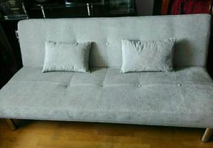 Lindo Sofa Cama Color Gris
