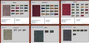 Cortinas para escenarios en tull y tapasol posot class for Alfombras precios m2
