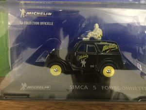 Auto Frances SIMCA 5 Fourgonnette 1/43
