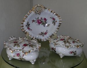 Cofre hexagonal s manzoli porcelana italiana posot class for Porcelana italiana