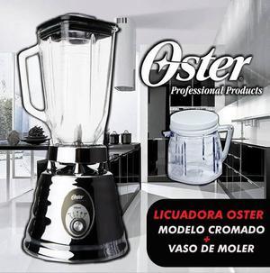 LICUADORA OSTER MODELO CROMADO NUEVA EN CAJA