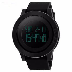 Reloj Skmei  Digital Led Para Hombre Deportivo Negro