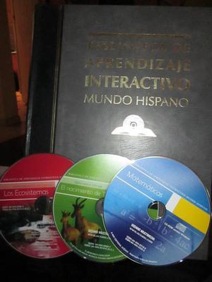 colección de libros aprendizaje interactivo
