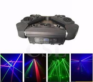 Cabeza Móvil De 9 Laser  Discoteca Bar Humo Luces Led