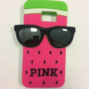 Case Funda Pink Samsung Galaxy S7, A. Oferta