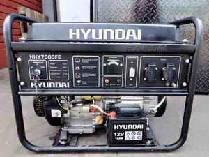 Generador Eléctrico Marca Hyundai  Watts