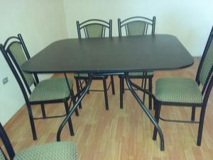 Comedor de 6 sillas moderno2 posot class for Juego de comedor 6 sillas