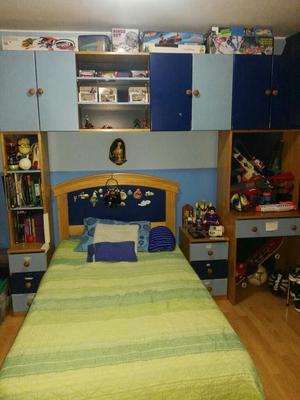 Juego de dormitorio completo tama o king posot class for Juego de dormitorio queen