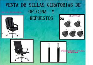 Sillones gerenciales y sillas lima posot class for Repuestos sillas de oficina