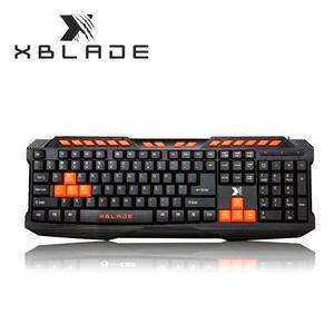 Teclado Xblade Gaming Raptor K328 Multimedia Usb Black