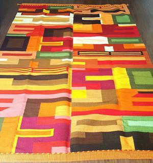 Preciosa alfombra 100 baby alpaca linda 200x180 posot class for Vendo alfombra