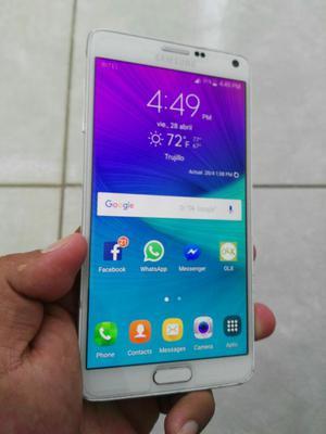 Vendo Samsung Not 4 Libre 9 de 10