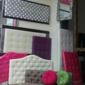 Camas cabeceras modernas tapizadas acolchadas fabrica - Cabeceras de cama tapizadas ...
