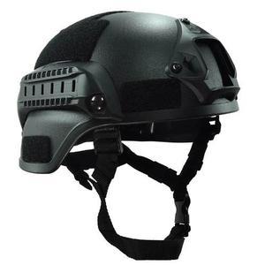 Casco Táctico Militar Negro Airsoft Paintball Gear Head