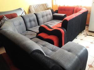 Muebles Aly Oferta Juego De Sala 3 2 1 Modelo Rex Posot