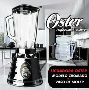 Licuadora Oster —cromado—nueva en Caja
