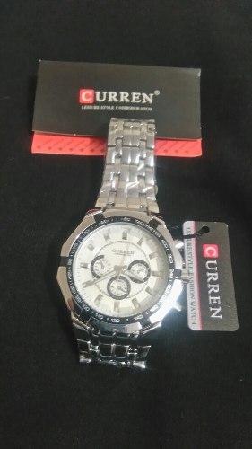 Reloj Curren Original (nuevo) Acero Inoxidable Water Proof