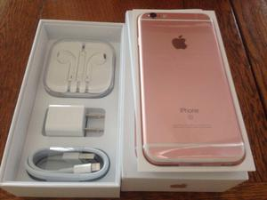 Apple Iphone 6s 64gb Gold Rose Libre 4g 12mp En Caja Sellado