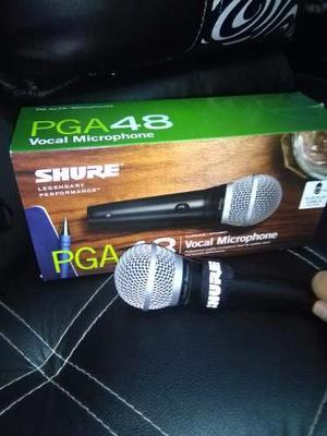 Micrófono Shure Pga48 Original Y Profesional