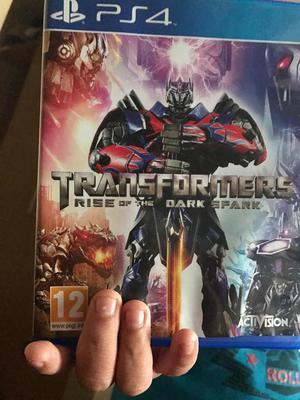 Ps4 Juego Transformers