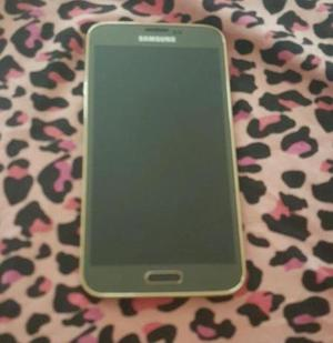 Vendo o Cambio Samsung s5 Gold Libre Deja tu Cel