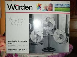 Ventilador Industrial 3 En 1 Nuevo