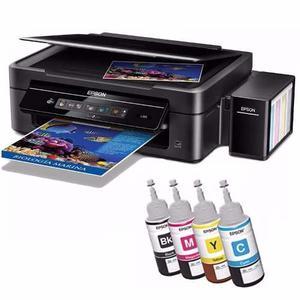 Impresora Epson L365 Multifuncional Sistema Continuo Wifi