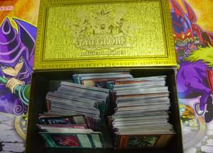 lote de 400 cartas de yu gi oh