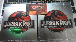 Jurassic Park Ultimata Trilogy nuevo y sellado Bluray