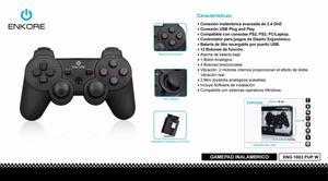 Mando Gamepad Inalabrico Usb/ps2/ps3