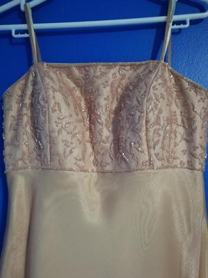 Vendo Vestido Color Palo Rosa.