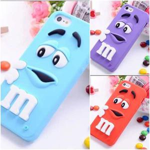 Case M&m Para Iphone 6 Diseños Hermosos