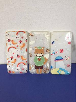 Hermosos Case De Silicona Para Iphone 6 Promoción 3x40soles