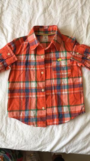 Vendo Camisa Carters Talla 2T