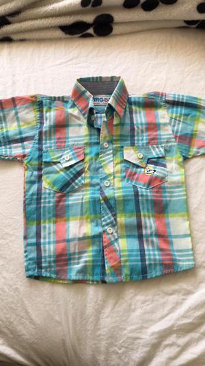 Vendo Camisa Niño Talla 2