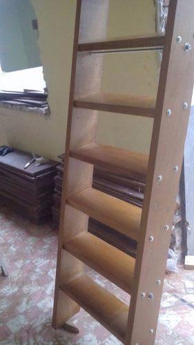 Venta De Escalera De Madera Tornillo Ideal Negocio 2 Niveles