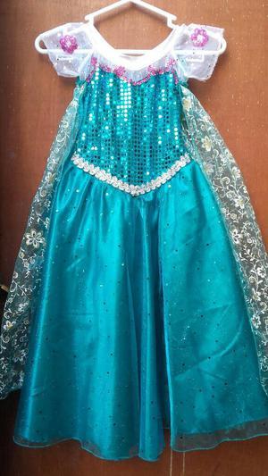 Vestidos De Elsa Ana Frozen Nuevos 456 Posot Class